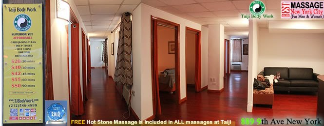 Best Massage NYC Taiji 58st location.